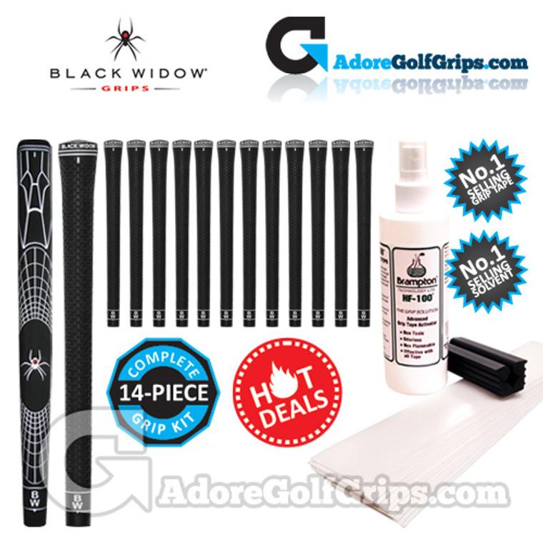 Complete Black Widow Tour Silk II Re-Gripping Kit