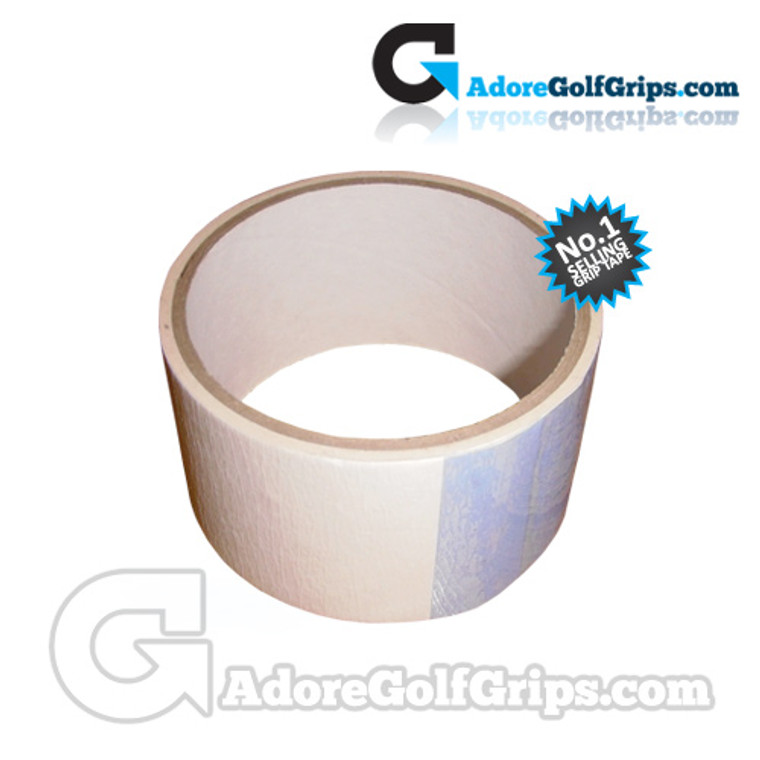 "Premium Double Sided Golf Grip Tape - 2"" x 2.25 Metre Roll - 9 Clubs"