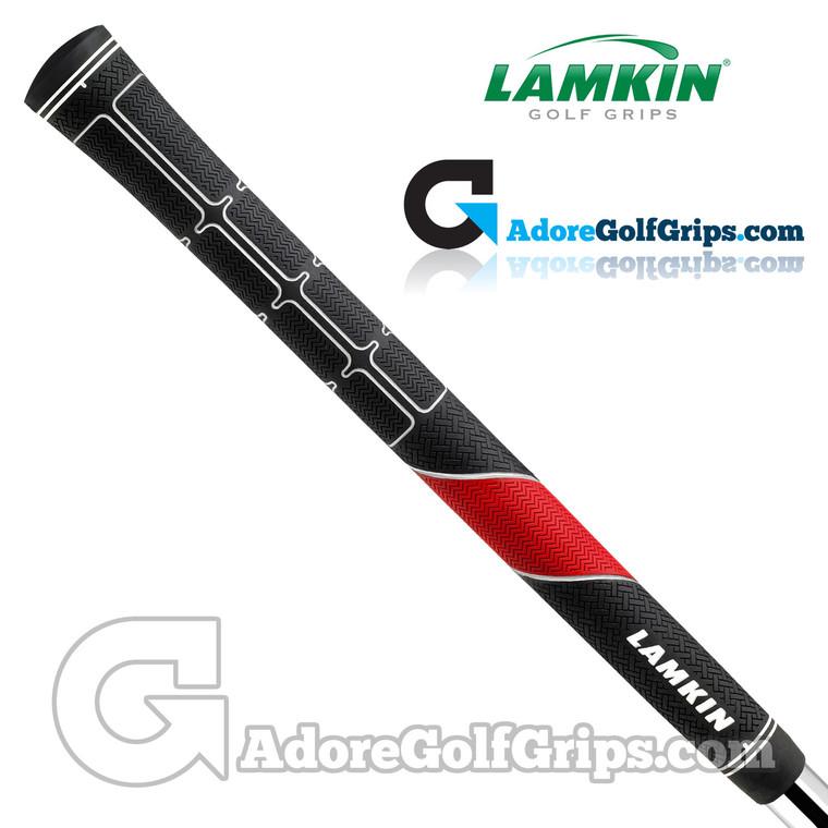 Lamkin TS1 Midsize PLUS Grips - Black / Red / White