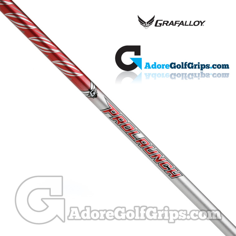 """Grafalloy ProLaunch Red 65 Wood Shaft (62g-64g) - 0.335"""" Tip - Red / Silver"""