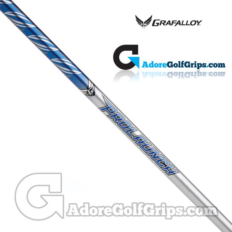 "Grafalloy ProLaunch Blue 65 Wood Shaft (64g) - 0.335"" Tip - Blue / Silver"