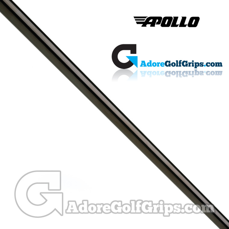 "Apollo Straight Stepless Putter Shaft (120g) - 0.370"" Tip - Black PVD"