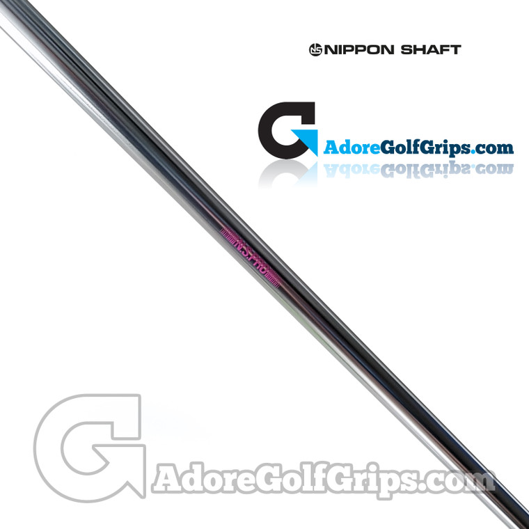 """Nippon N.S. Pro Heavy Straight Stepless Putter Shaft (136g) - 0.370"""" Tip - Chrome"""