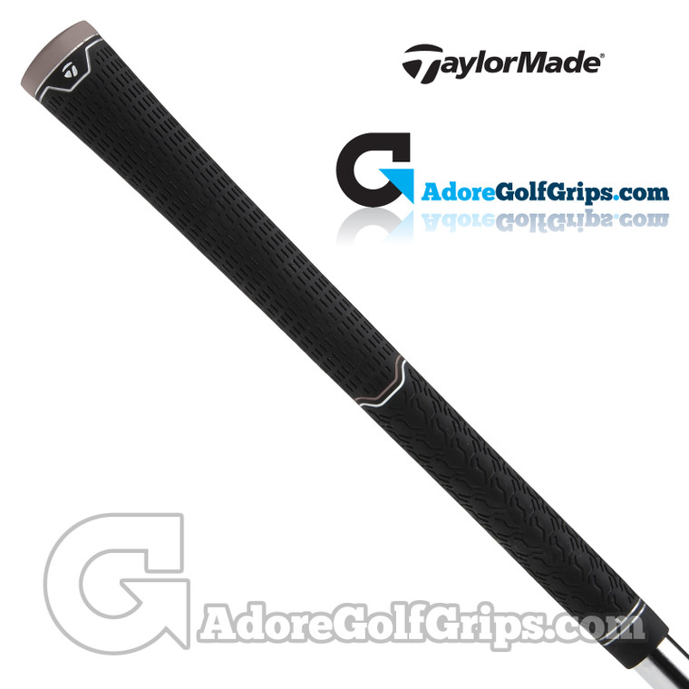 TaylorMade Dual Feel Universal Replacement Grips By Lamkin - Black / Grey