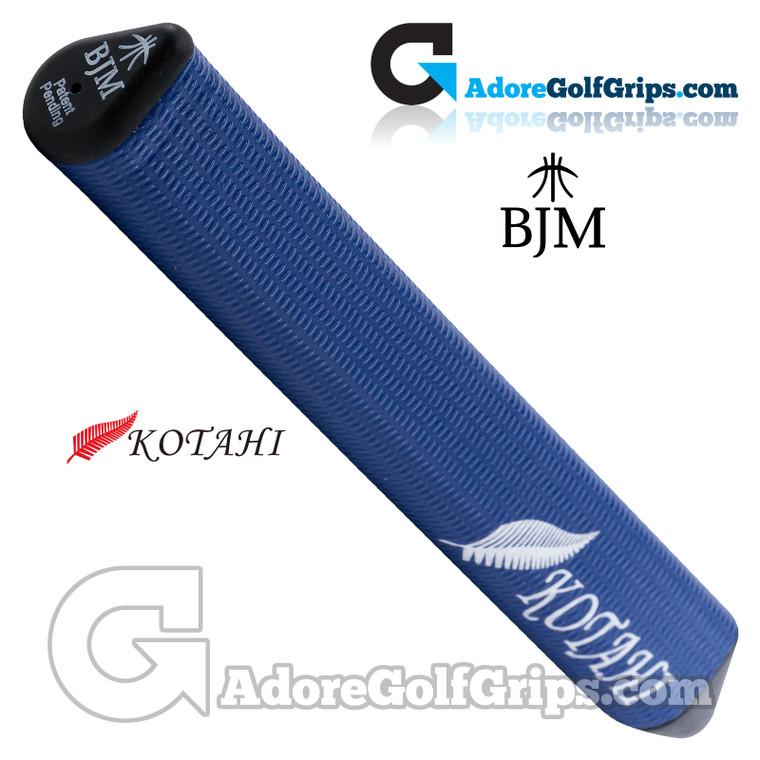 BJM Kotahi Standard 14 Inch Giant Silicone Putter Grip - Dark Blue