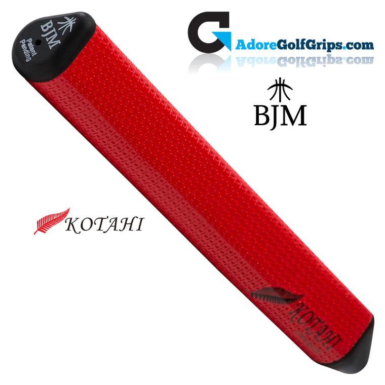BJM Kotahi Undersize 11 Inch Jumbo Polyurethane Putter Grip - Red