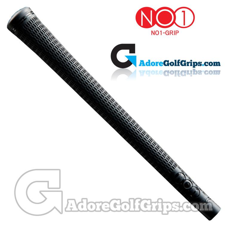 NO1 Grip 50 Pro Midsize Grips - Matte Black