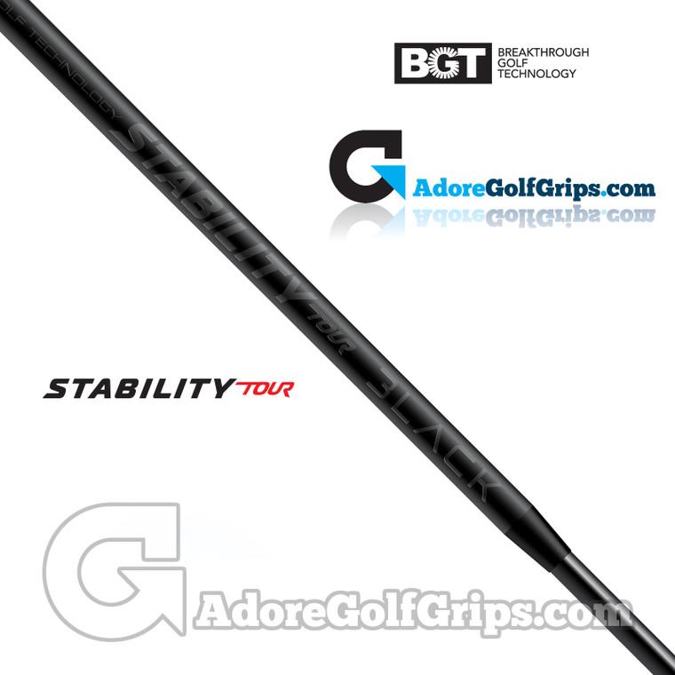 BGT Stability Tour Black Limited Edition Putter Shaft (110g) - Carbon Fibre / Black Matte