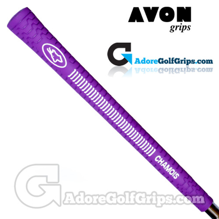 Avon Chamois Grips - Purple / White