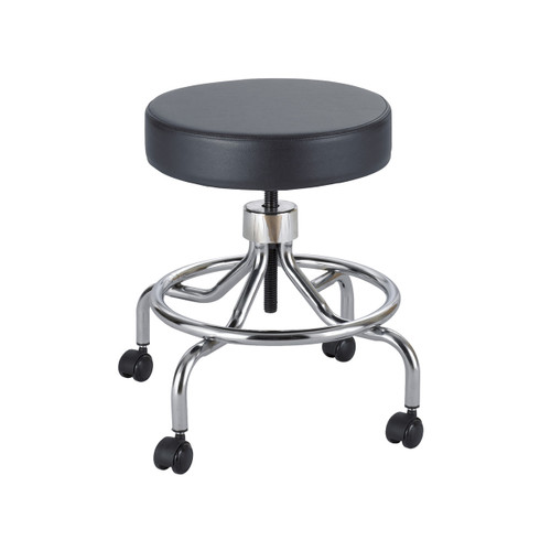 Safco Lab Stool, Low Base with Screw Lift
