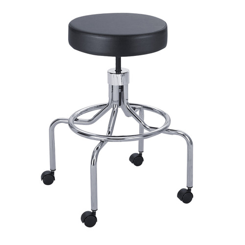 Safco Lab Stool, High Base with Screw Lift