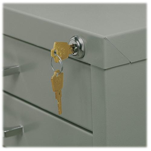Safco Lock Kit for 10-Drawer File