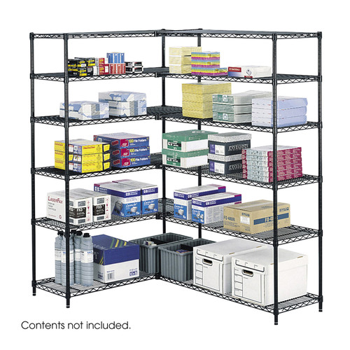 """Safco Industrial Wire Shelving, 48 x 18"""""""