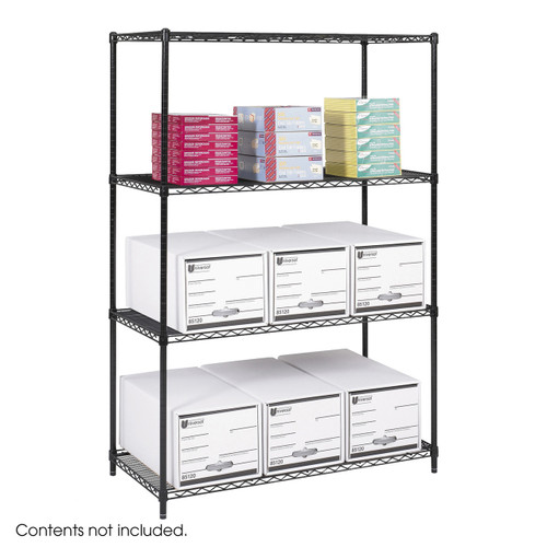"""Safco Industrial Wire Shelving, 48 x 24"""""""