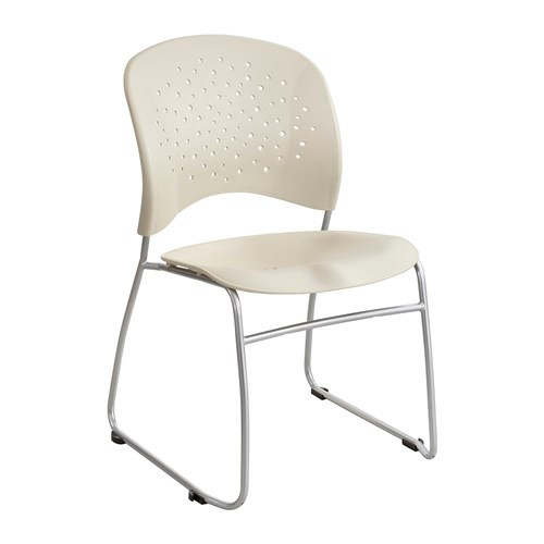Safco Rêve Guest Chair Sled Base Round Back