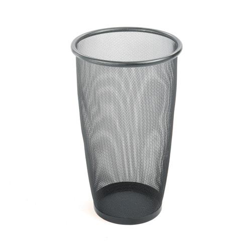 Safco Onyx Mesh Large Round Wastebasket (Qty.3)
