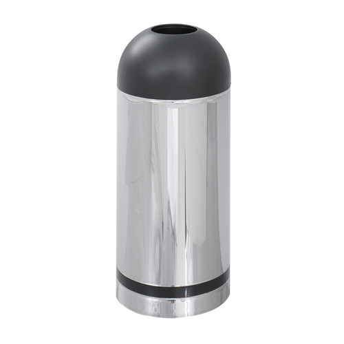 Safco Reflections By Safco® Open Top Dome Receptacle
