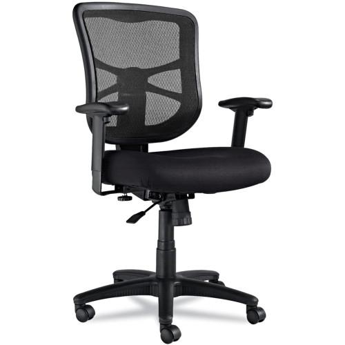 Mesh Mid-Back Swivel/Tilt Chair, Black ALEEL42BME10B