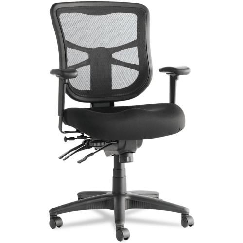 Mesh Mid-Back Multifunction Chair, Black
