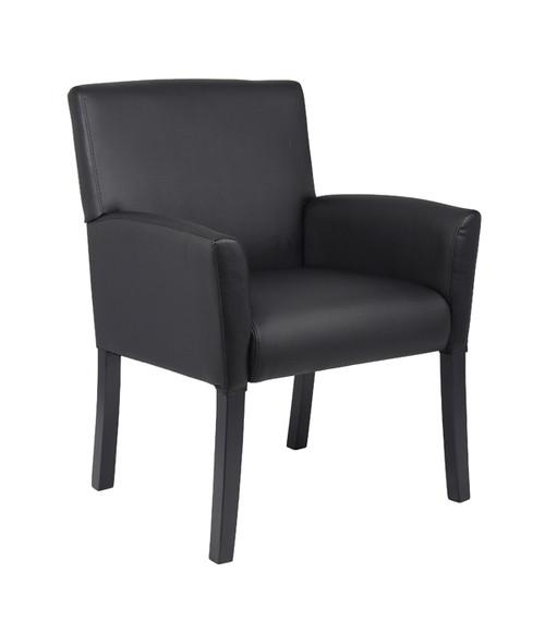 Boss Executive Box Arm Chair B639-BK