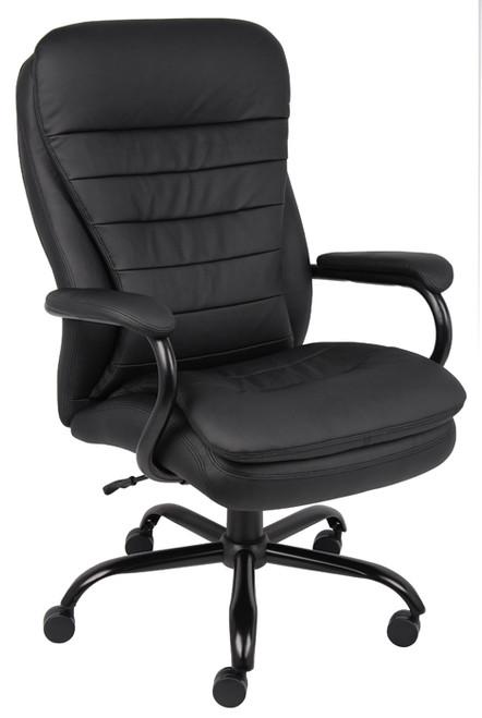 Boss Heavy Duty Double Plush Caressoftplus Chair - 350 Lbs B991-CP