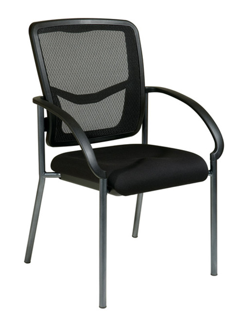 Office Star ProGrid Back Visitors Chair with Arms 85670-30