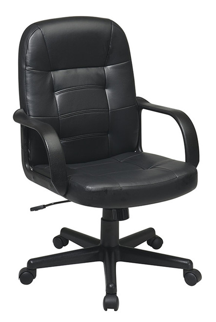 Office Star Eco Leather Executive Chair EC3393-EC3