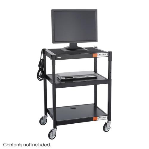 Safco Steel Adjustable Height Cart