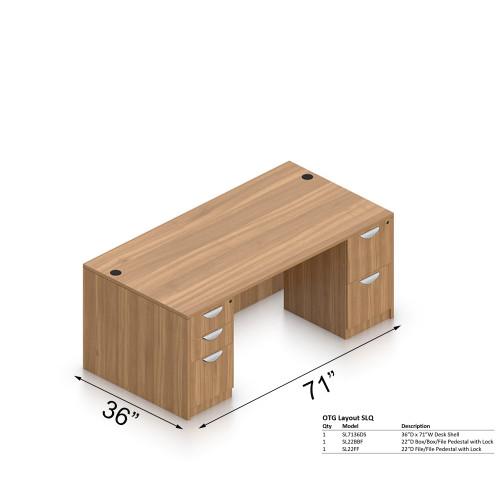 OTG 36x71 Desk