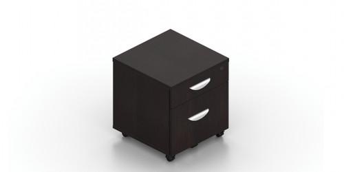 "OTG 22""D Mobile Box/File Pedestal with Lock"