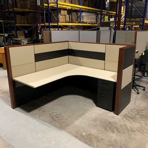 """Pre-Owned 54"""" High Herman Miller Ethospace stations"""