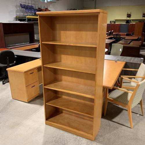 Pre-Owned Darran 35W x 72H Maple Bookcase