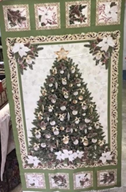 Christmas Tree panel