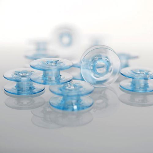 Bobbins, blue, 10-pack