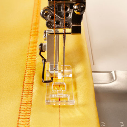 Clear Coverstitch foot