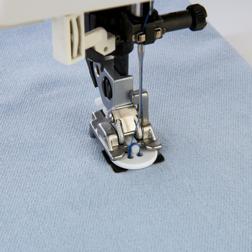 Sew-on button foot