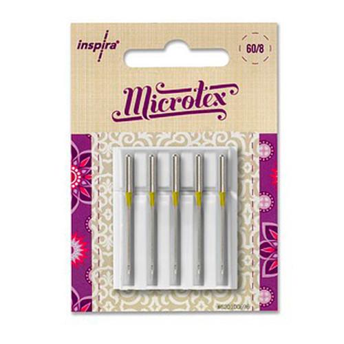 Inspira needles, Microtex size 80/12, 5 Pack