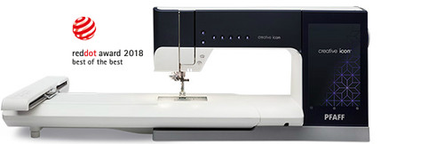 Creative ICON, sewing & embroidery machine