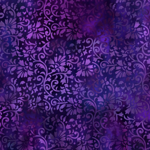 Rainbow of Jewels-purple vines