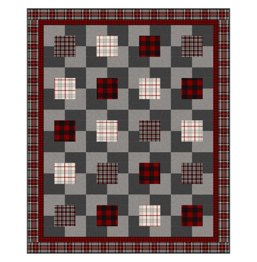 Crackers & Cheese pattern - using fabric from West Creek
