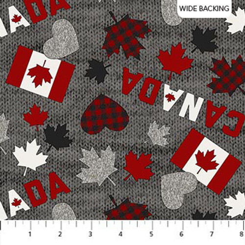 """My Canada-wide backing, 108"""""""