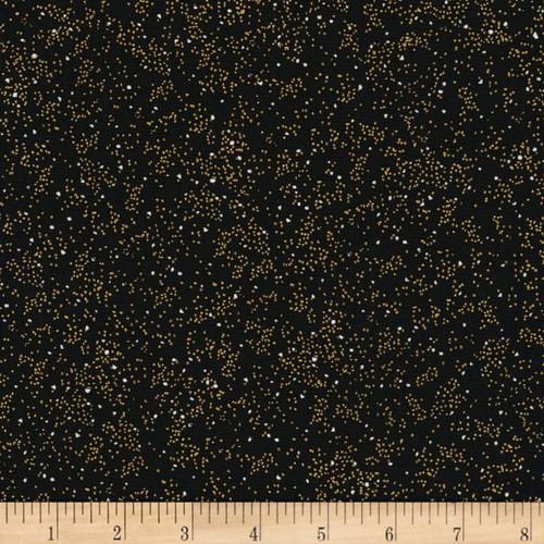 Holiday Blenders - metallic holiday dots, black