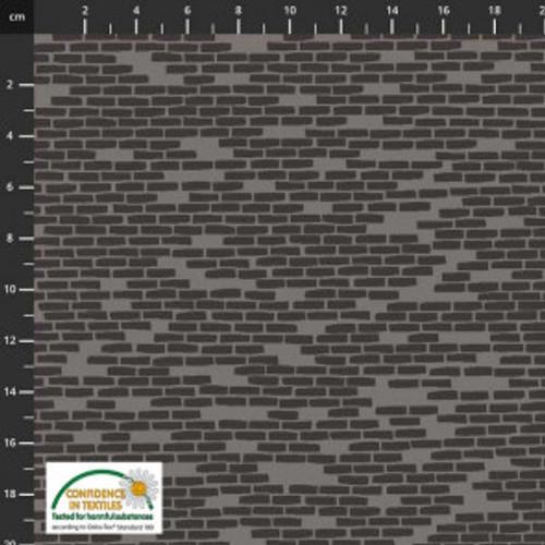 Step Over My Doorstep - grey bricks