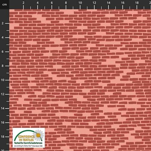 Step Over My Doorstep - red bricks