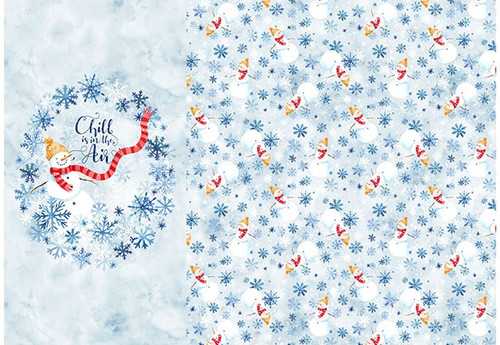 Celebrate the Seasons - January, digital print