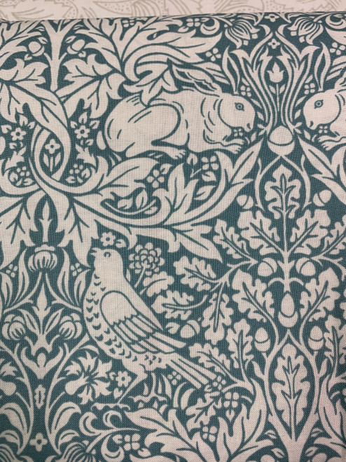 William Morris - Bloomsbury - Brer rabbit-teal.jpg