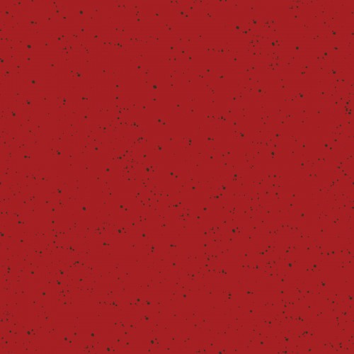 speckled solid, red