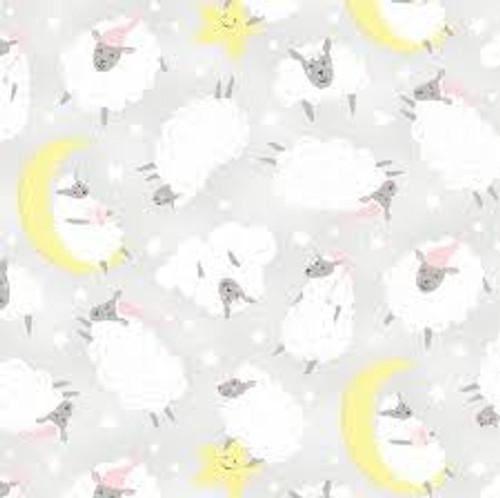 One Sheep Two Sheep-Sheep on Grey