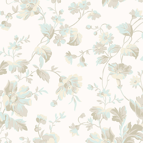 Willow - Tossed Floral, neutral