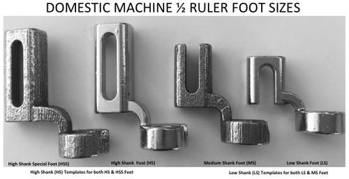 Westalee - RULER FOOT STARTER PKG